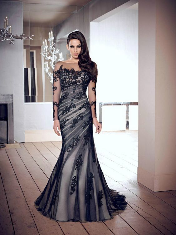 Long black evening dresses size 24 – Dress online uk