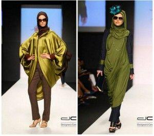 Dubai moda haftası Tessettür Giyim Rabia Z Frace Koleksiyonu