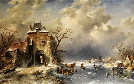Charles Leickert   Romantic Dutch Landscape painter   Tutt'Art@   Pittura * Scultura * Poesia * Musica  