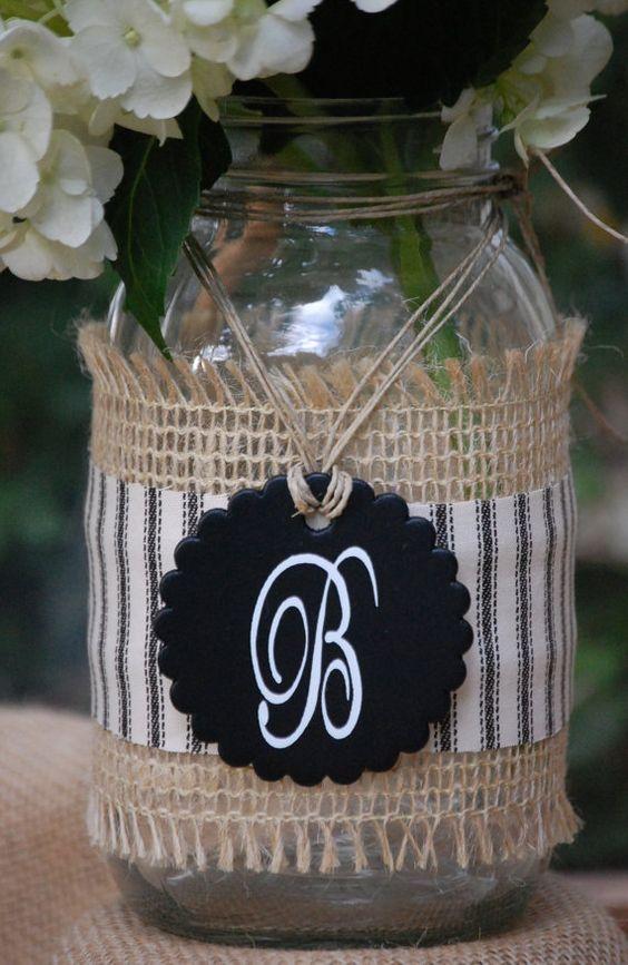 decor friend gifts masons burlap burlap mason jars decor hanging jars