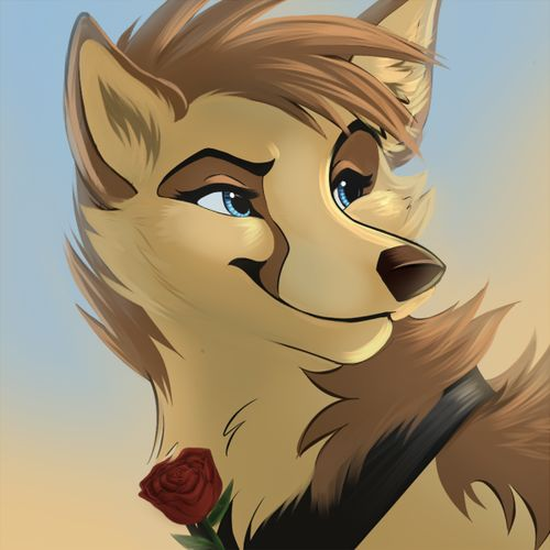 Brown Anime Female Wolf Furry On Pinterest Art Wolves And