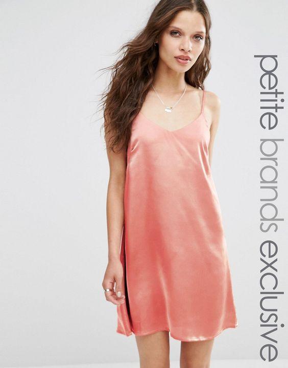 Image 1 ofGlamorous Petite Cami Slip Dress
