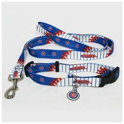 Hunter Manufacturing #ChicagoCubs Large #MLB Dog #Collar & #Leash Set