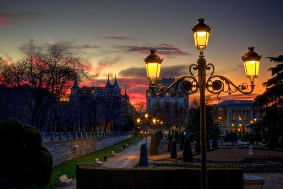 Parque de Buen Retiro, Madrid
