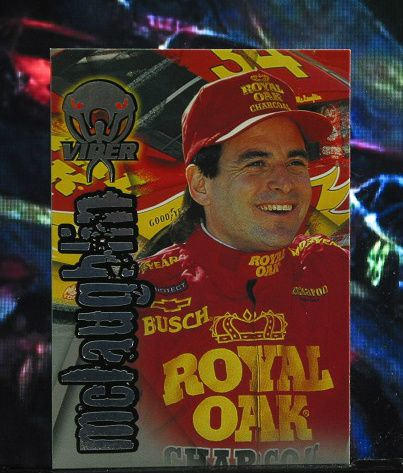 http://nascarniche.blogspot.com/  Mike McLaughlin 1996 Wheels Viper Trading Card #48 Base Set Nascar