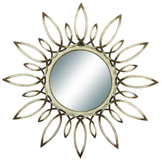 I love this mirror and it's such a great deal especially for the size!