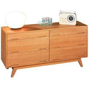 Déco rétro : Années 50 - Mistergooddeal vous propose la gamme SVEN : des meubles de qualité aux lignes rétro. Cette commmode, dont la structure est en frêne massif, garantit robustesse et solidité à l'usage.
