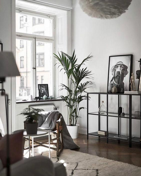 Modern Scandinavian Design Living Room Interior With Dark Floor Flooringstores Scandinavian Design Living Room Living Room Scandinavian Living Room Designs