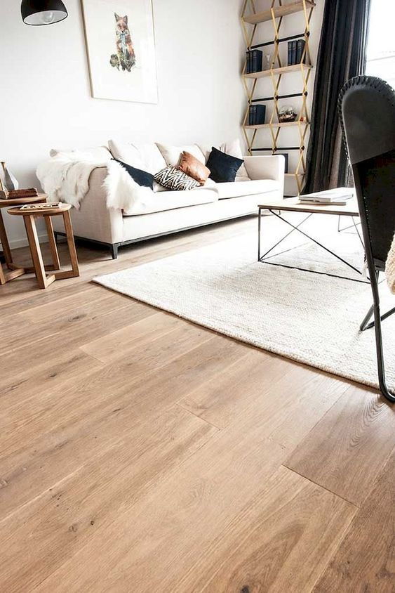 35 Inspiring Flooring Ideas For Living Room To Refresh Your Home In 2020 Wooden Floors Living Room Living Room Wood Floor Light Wood Floors