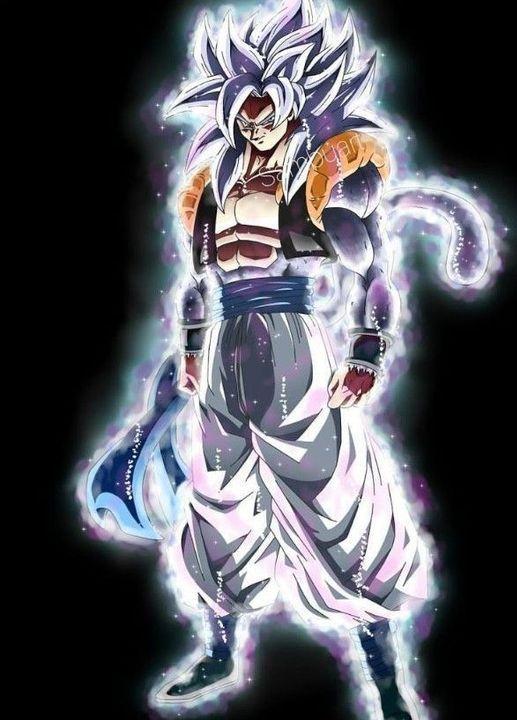 Gogeta Mastered Ultra Instinct Ssj4 Dragon Ball Super Artwork Anime Dragon Ball Super Dragon Ball Artwork