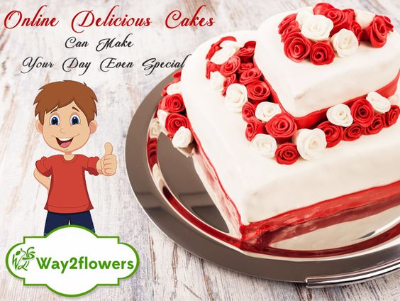 Online Cake Delivery by Way2flowers.com