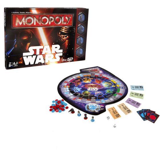 Le jeu du Monopoly version Star Wars. C'est parti pour la conquête de la galaxie.