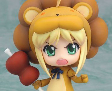 Saber Lion (Fate/Tiger Colosseum) Nendoroid-Actionfigur 10cm GoodSmileCompany