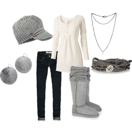 """""""pregnant winter"""" by agould52 on Polyvore"""