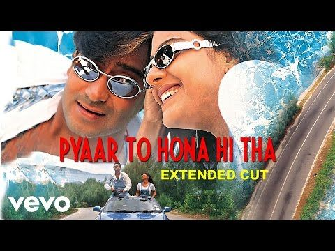 15 Pyaar To Hona Hi Tha Title Track Video Kajol Ajay Devgan Youtube Bollywood Music Bollywood Couples Bollywood Songs