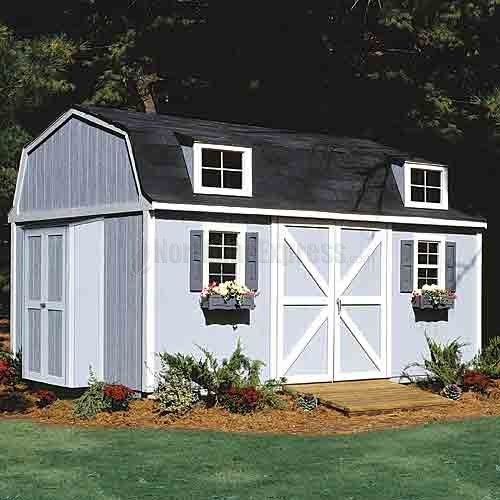 berkley storage shed x holds approximately 9 full cords 2 x 4 construction treated factory primed engineered wood siding continuous galvanized - Garden Sheds 7 X 14