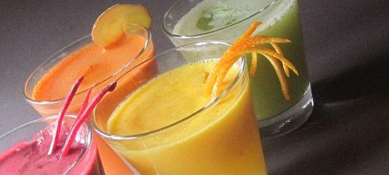 Several Juice recipes - Thanks Randy & Amy