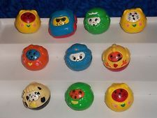 Fisher price  roll-a-round figures