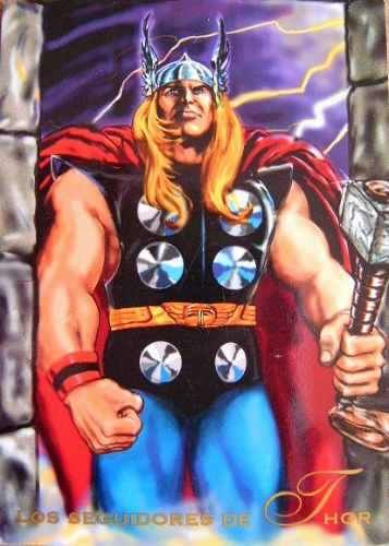 Thor Marvel Comics | Thor / Marvel Comics Pepsi Cards 82 / Tarjetas