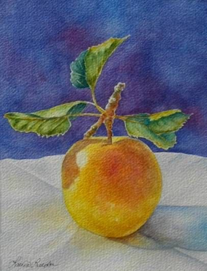 Golden Delicious Limited Edition Giclee' Print by lauraleedersart