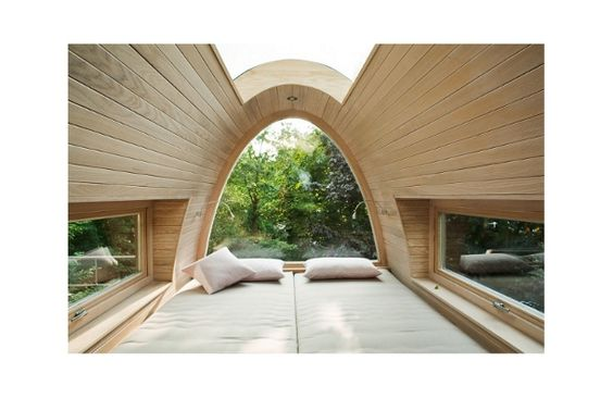 Baumraum's open roof tree house