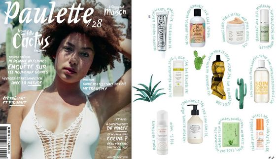 CIE LUXE Feature: Paulette Magazine  CDP Summer Grapefruit - mmmm refreshing!  Shop it: www.CompagniedeProvence-USA.com  #CieLuxe #CieLuxeBrands #CDP #CompagniedeProvence #summergrapefruit #grapefruit