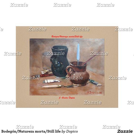 Bodegón/Natureza morta/Still life Impresión En Lona Estirada