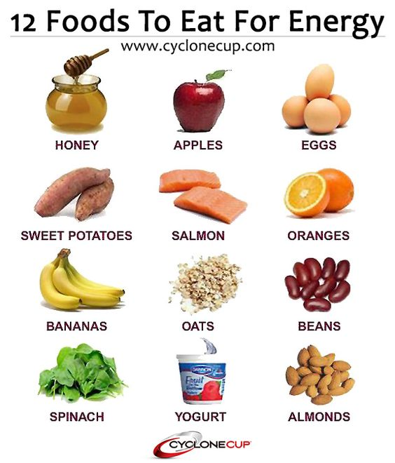 Natural Energy Foods For Cycling