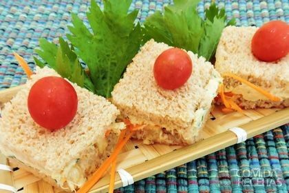 Receita de Mini sanduiche de atum                              …