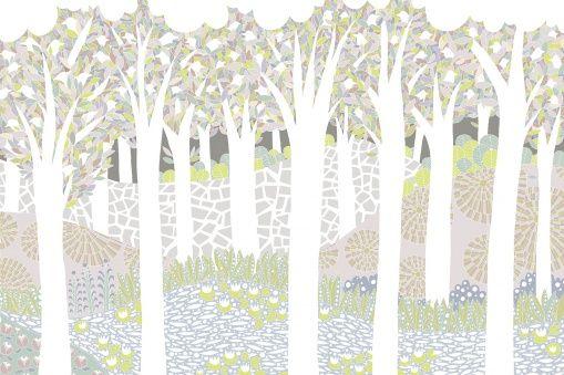 foto wallpaper - trees