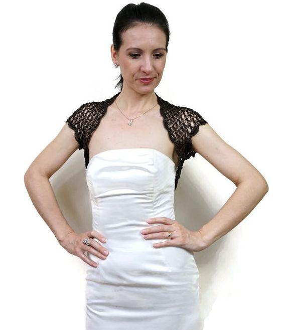 Wedding Lace Shrug- Elegant Lace Bolero- Evening Dress Bolero ...