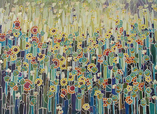 'Klimts Garden' by Marilia Martin