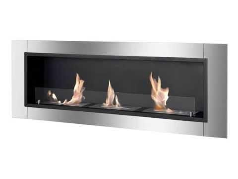 Best Ignis Ventless Bio Ethanol Fireplace Ardella With Safety Gl