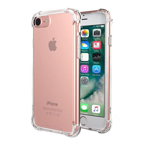 For Apple Iphone7 6 Plus Clear Case Hybrid Slim Shockproof Soft Tpu Bumper Cover Iphone Iphone 7 Plus Cases Iphone 7