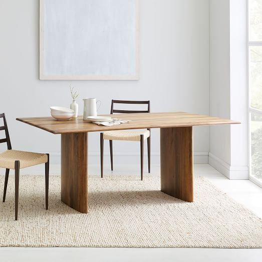 Anton Solid Wood Dining Table Wood Dining Table Solid Wood Dining Table Dining Table