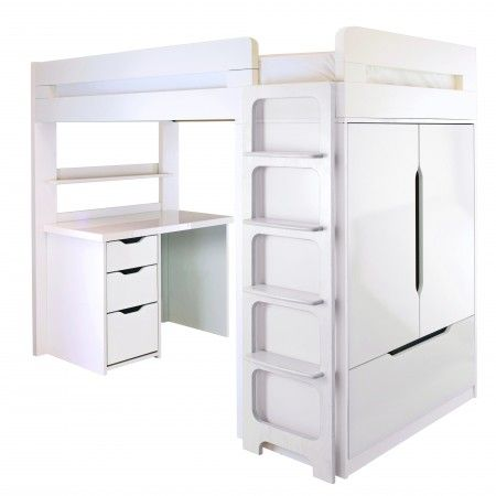 Storage beds, Children and Desks on Pinterest