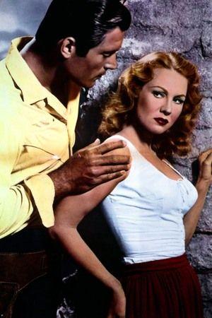 FORT DOBBS (1958) - Clint Walker & Virginia Mayo