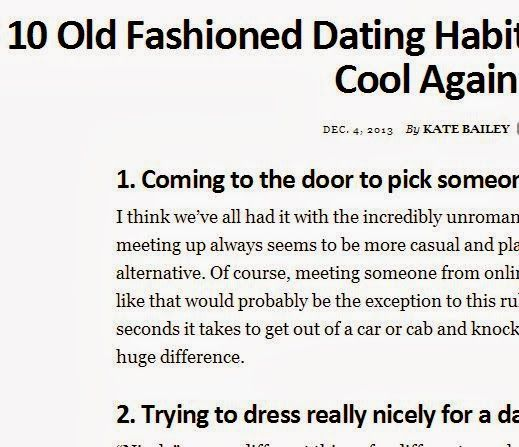 10 More Old Fashioned Dating Habits We Should Make Cool Again