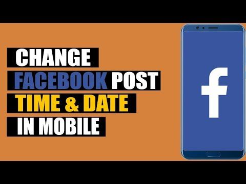 How To Change Facebook Post Date And Time Change Fb Post Time Date In Android Mobile Youtube Facebook Posts Post Date Post Time
