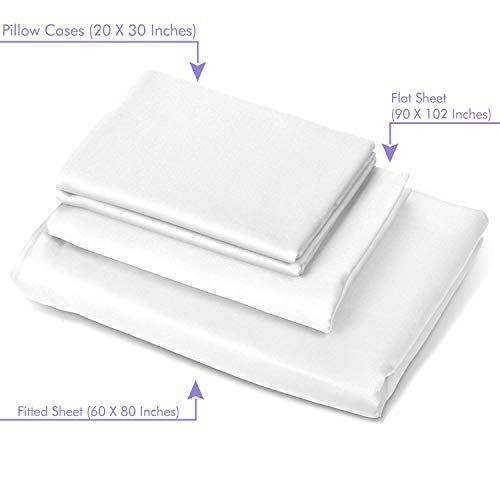The 5 Best Airbnb Bed Sheets 2021 Review Cotton Microfiber And More Best Bed Sheets Bed Sheets White Sheet Set