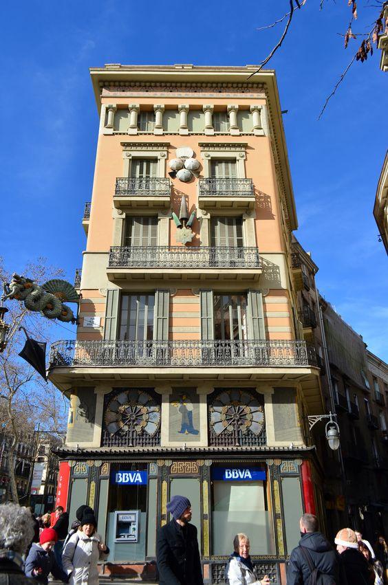 The umberella shop, Rambles de Barcelona Catalonia