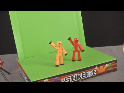 How To Make A Green Screen Background In Stop Motion Studio Pro Youtube Stop Motion Stikbot Green Screen Backgrounds