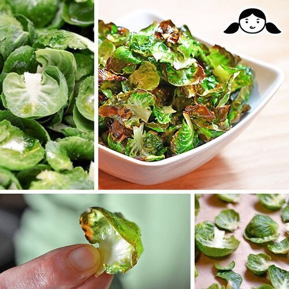 """Have you tried making Brussels Sprouts Chips? They're my favorite @Whole30-friendly veggie chips! Plus, they're perfect for your Paleo Super Bowl. Get the recipe in the clickable link in my profile!"" Photo taken by @nomnompaleo on Instagram, pinned via the InstaPin iOS App! http://www.instapinapp.com (01/29/2015)"
