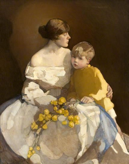 Norah Neilson Gray, Little Brother 1920-22  Blog of an Art Admirer