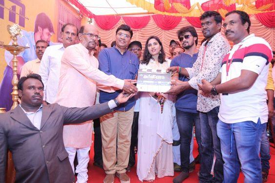 Director K.Bhagyaraj At Arjuna Movie Launch