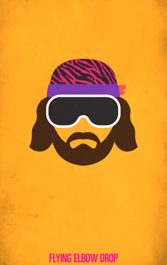Macho Man Randy Savage Minimalist Wwf Wrestling Poster In 2020 Minimalist Poster Wrestling Posters Macho Man Randy Savage