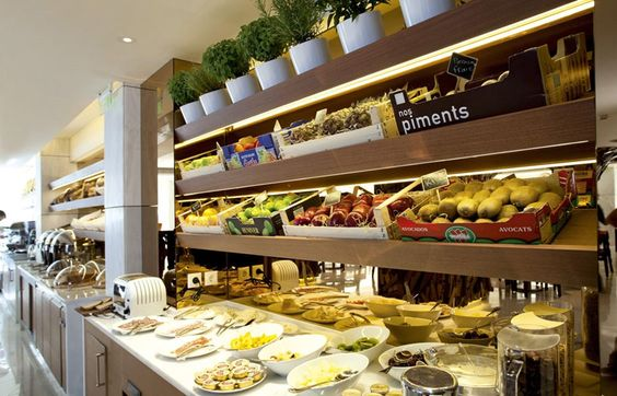 All Cooks Dream Realized In The New Kitchen At Meadowood: Luxury Breakfast Buffet - Google Search