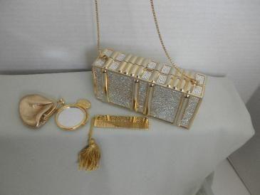 Judith Leiber Crystal Rectangle Hard-case Minaudiere