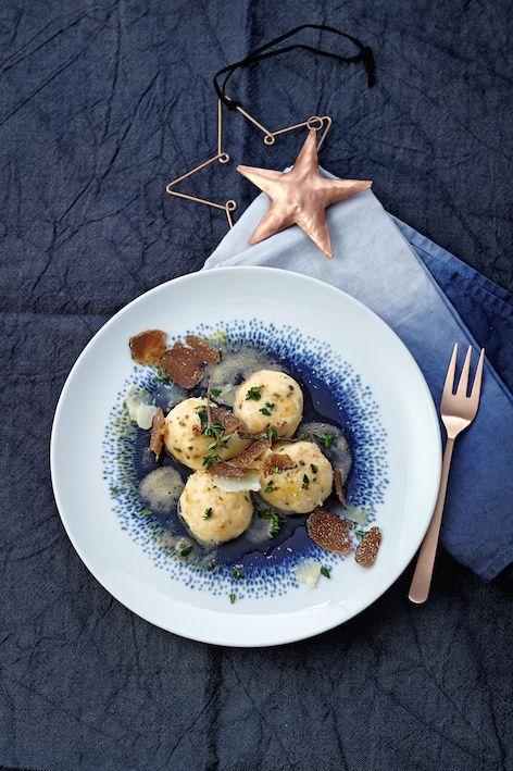 Lieblingsrezept: Ricotta-Gnocchi mit Parmesan und Trüffel