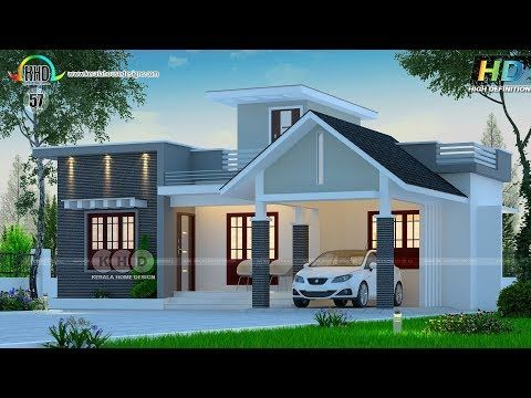 Best 75 House Designs October November 2017 Youtube Low Cost House Plans Kerala House Design Bungalow House Design
